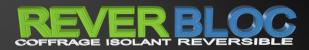 ReverBloc COFFRAGE ISOLANT REVERSIBLE